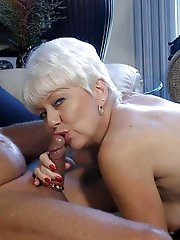 Amazing older women get nude