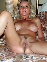 Filthy old whore like to take part in porn very much