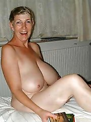 Nasty mature cougars revealing their breasts