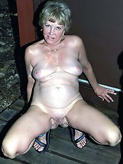 Lovely mature prostitute get ready for sex