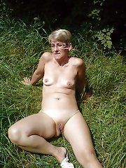 Lascivious mature dames baring it all on picture