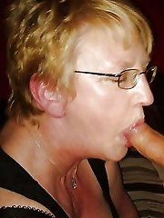 Mature women spreading their pussy lips