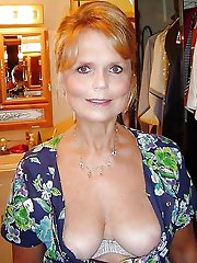 Older grannies in sexy bra