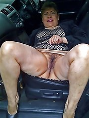 Kinky experienced MILFs showing their sexy ass