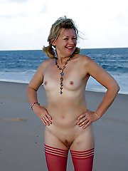 Concupiscent aged milfs getting nude
