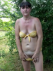 Attractive mature businesswomen get naked
