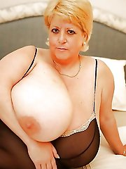 Mature milfs get undressed for you