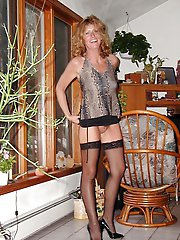 Amazing mature mamas with hairy slit