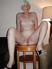 Shameless mature mamas having unshaved slit