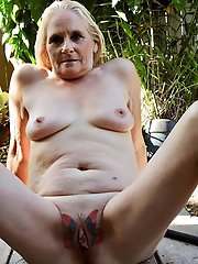 Dissolute aged milfs having huge hooters