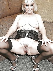 Old gilf having fun