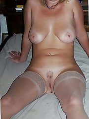 Spicy aged mistress with ideal titties