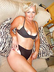 Sensuous older babes trying to tease