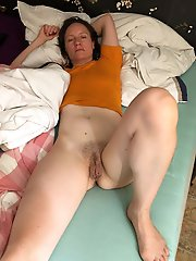 Outstanding old mistress giving blowjob