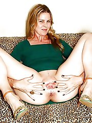 Immoral mature MILF in good shape